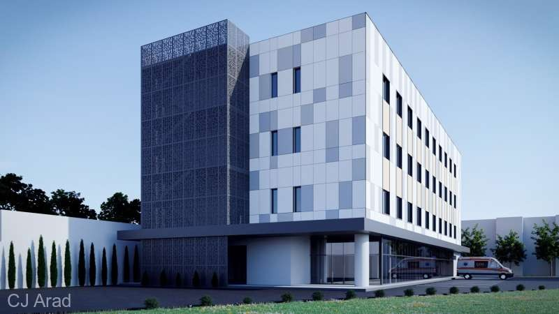 Noul spital de boli infecţioase, construit de CJA, va costa patru milioane de euro