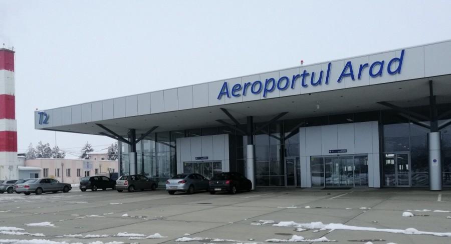 Aeroportul Arad va avea curse regulate de Italia