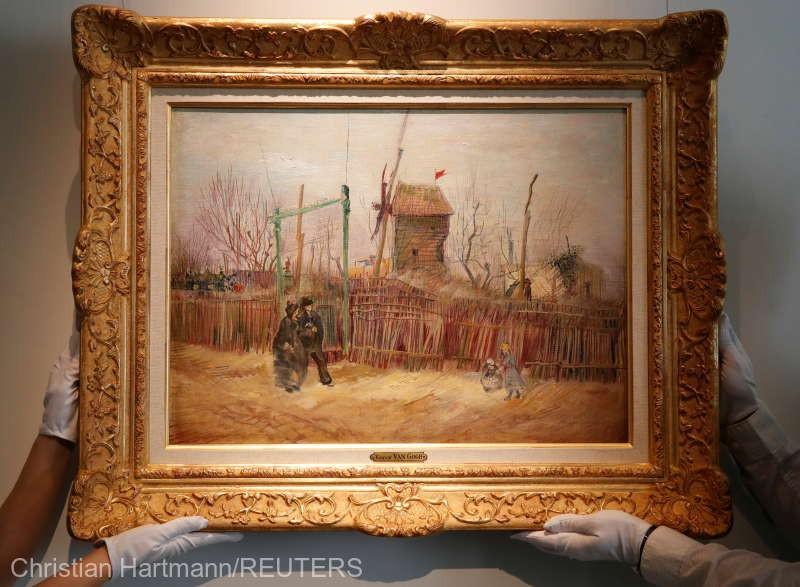 Un tablou realizat de Van Gogh la Paris, expus pentru prima dată în public