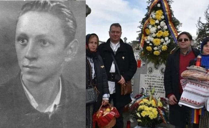 Lecțiile de Istorie care nu sunt în manuale se țin în Cimitire. Corneliu Niță, primul student ucis în Experimentul Pitești, comemorat