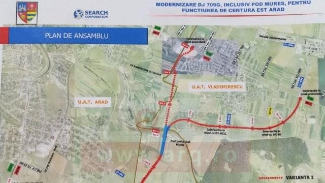 Încă un pas pentru scoaterea traficului greu din Gai: parteneriat pentru Centura de Est a Aradului