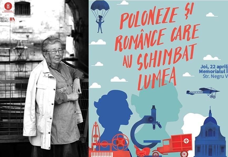 """""""Poloneze și românce care au schimbat lumea"""" - expoziție la Memorialul Închisoarea Pitești"""