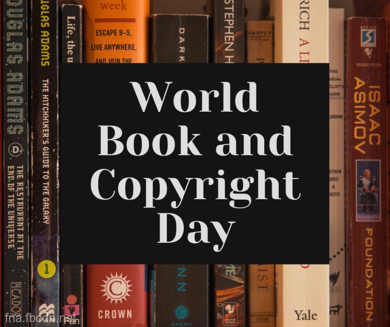 23 aprilie - Ziua mondială a cărţii şi a drepturilor de autor