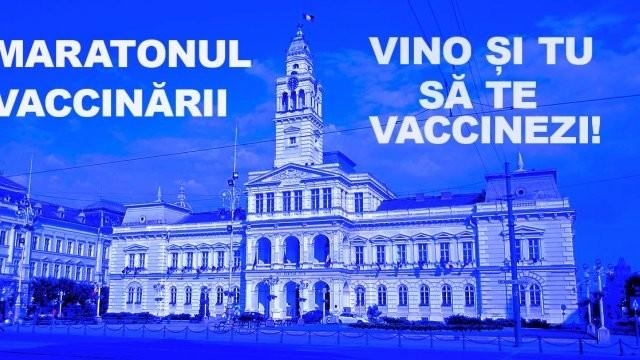 Începe Maratonul vaccinării la Arad