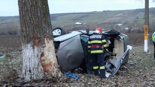 Accident mortal la ieșirea din Ineu