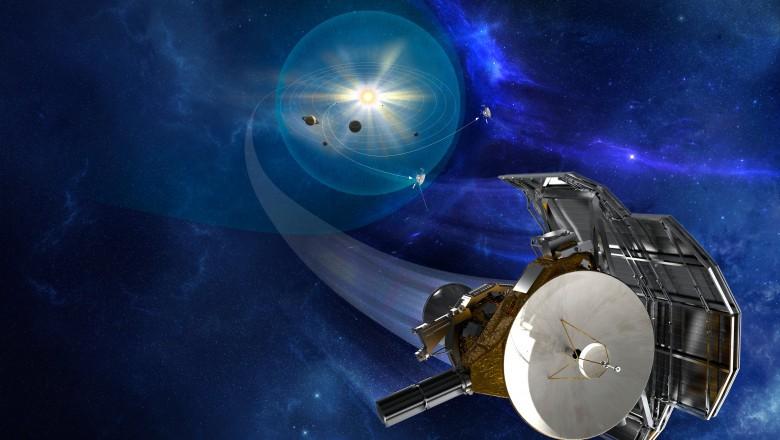 "Sonda spațială Voyager 1 a detectat un ""zumzet persistent"" dincolo de sistemul nostru solar"