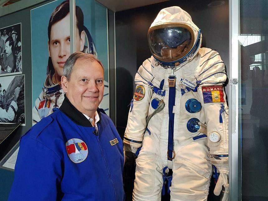 40 de ani de la singurul zbor în Cosmos al unui român, Dumitru Prunariu