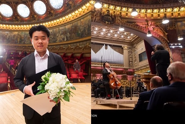 Jaemin Han din Coreea de Sud este cel mai tânăr câștigător în istoria Concursului  George EnescuEnescu