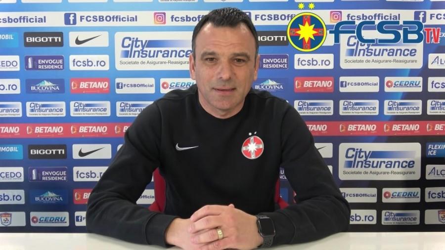 Anton Petrea nu va mai continua la FCSB; Gigi Becali susţine că înlocuitorul său e Marius Şumudică