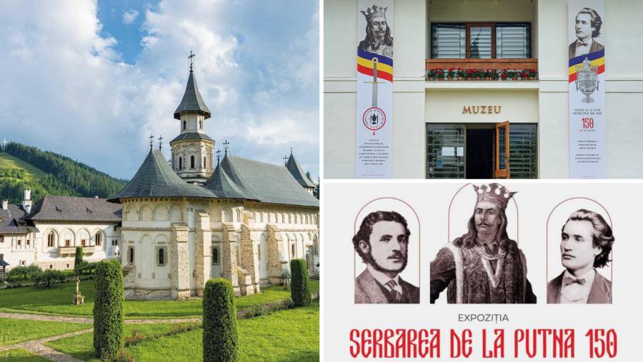 """Astăzi încep manifestările aniversare la Mănăstirea Putna - """"Serbarea de la Putna – 150. Continuitatea unui ideal"""""""