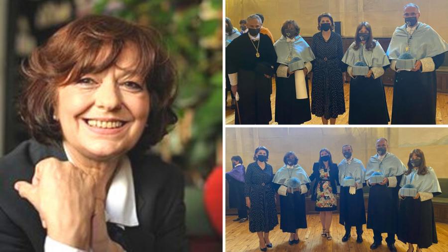 Poeta Ana Blandiana a primit titlul de Doctor Honoris Causa al Universității din Salamanca