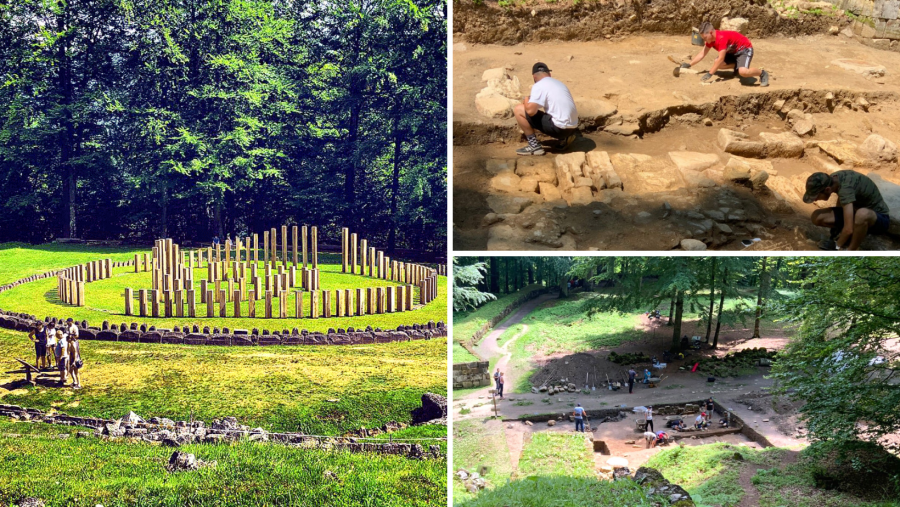 Noi cercetări arheologice în cetatea dacică Sarmizegetusa Regia din Munţii Orăştiei