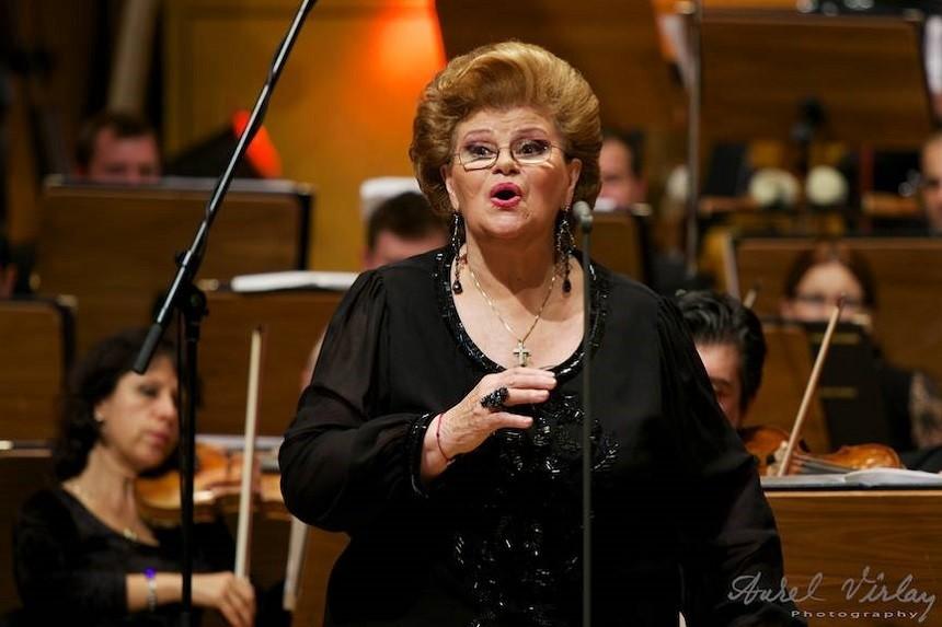 Mezzo-soprana Viorica Cortez, numită Cavaler al Legiunii de Onoare de către Republica Franceză