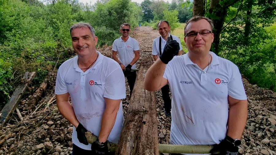Via Transilvanica, drumul care unește, pe urmele unei vechi căi ferate care face legătura dintre Podișul Hațeg și Țara Gugulanilor