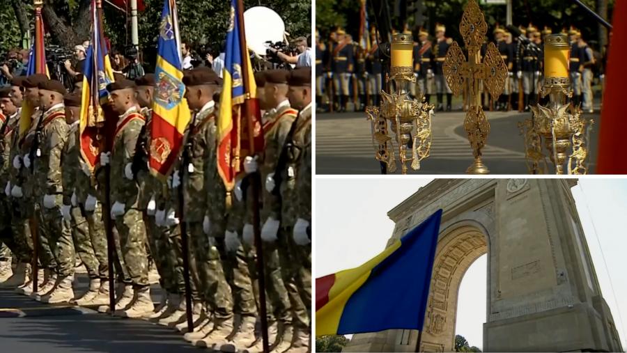 Ceremonie la finalul misiunii Armatei Române în Afganistan. Moment de reculegere pentru cei 27 de militari care au murit în misiune
