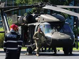 Motivul pentru care elicopterul Black Hawk a aterizat în centrul Capitalei