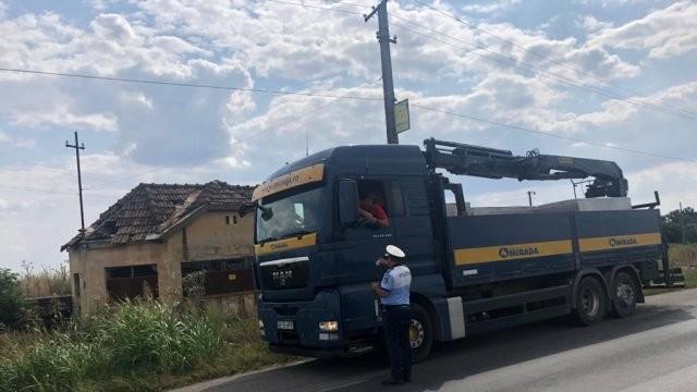 Razie în rândul transportatorilor de marfă