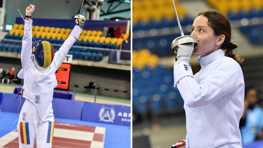 Aproape de prima medalie românească la Tokyo! Ana-Maria Popescu s-a calificat în semifinalele probei de spadă