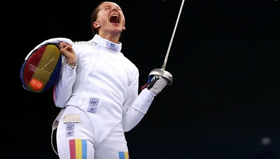 Ana Maria Popescu s-a calificat în finala probei de spadă la Tokyo!