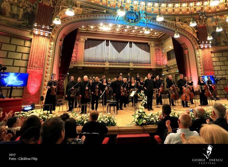 Ediția jubiliară a Festivalului Internațional George Enescu aduce la București 32 de orchestre de top din 14 țări