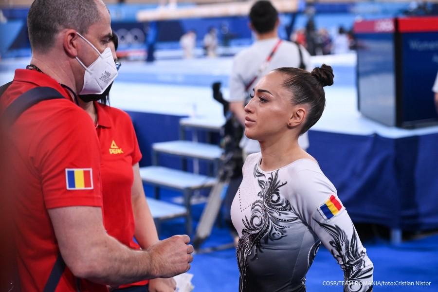 Problemele de la gleznă  o împiedică pe Larisa Iordache să  concureze în finala olimpică la bârnă