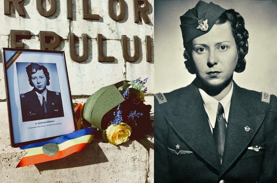 109 ani de la nașterea aviatoarei Mariana Drăgescu, temerară a Escadrilei Albe, în timpul celui de-al Doilea Război Mondial