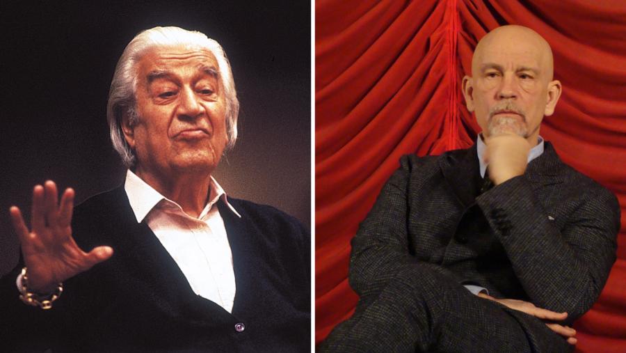 """John Malkovich va juca rolul marelui dirijor Sergiu Celibidache în filmul """"Cravata galbenă"""""""