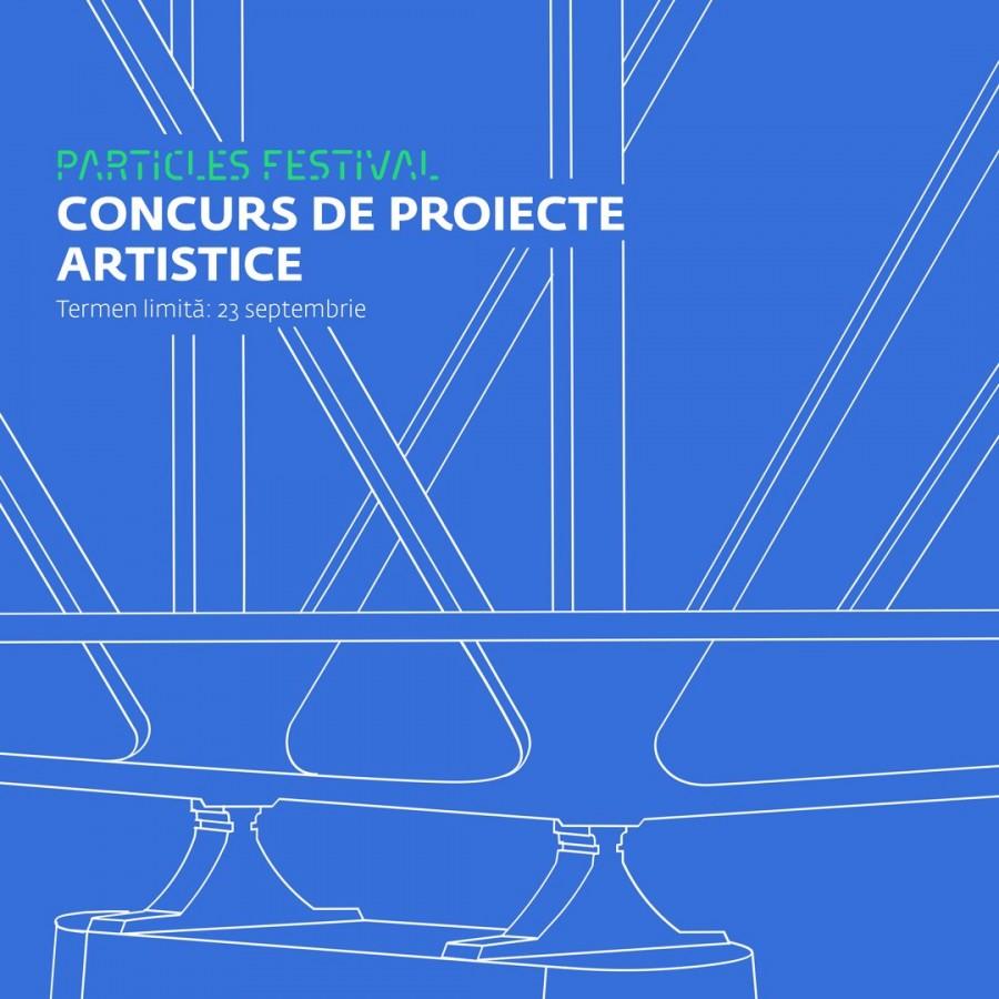 Concurs de proiecte artistice & Ateliere de design mobilier urban şi peisagistică  în pregătirea Festivalului Particles #4