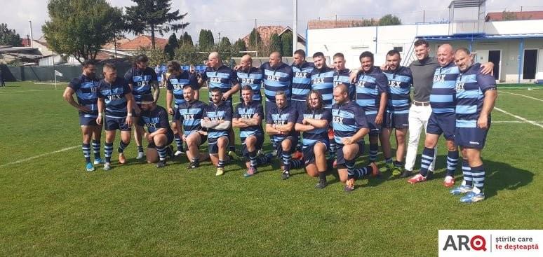 CS Universitatea Arad - RC Bîrlad 15-76, la rugby