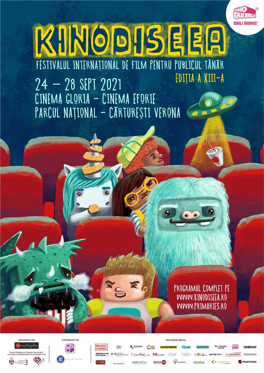 Fwd: Festivalul Internațional de film KINOdiseea, ediția XIII, aduce la București cele mai premiate filme ale anului, pentru publicul tânăr, o retrospectivă Miyazaki și multe surprize pentru cei mici