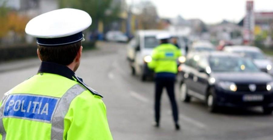 Record de infracțiuni rutiere la sfârșit de săptămână