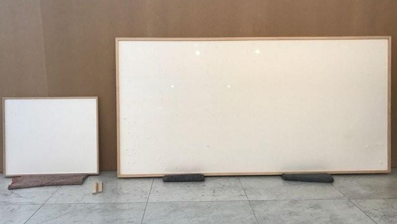 Ăsta da artist, e mai tare ca furnizorii de energie: a înrămat câteva pânze GOALE şi le-am vândut pe 84.000 de dolari