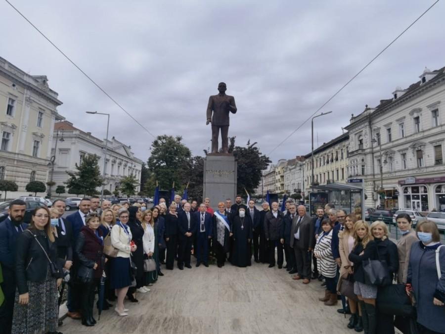 """Deschidere festivă a anului academic 2021-2022: Universitatea de Vest """"Vasile Goldiş"""" din Arad a intrat în al 32-lea an de existenţă"""