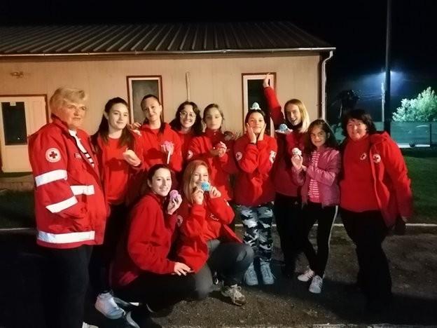 """Crucea Roșie Română, filiala Arad a accesat un proiect de tineret """"Salvează în caz de dezastre"""""""