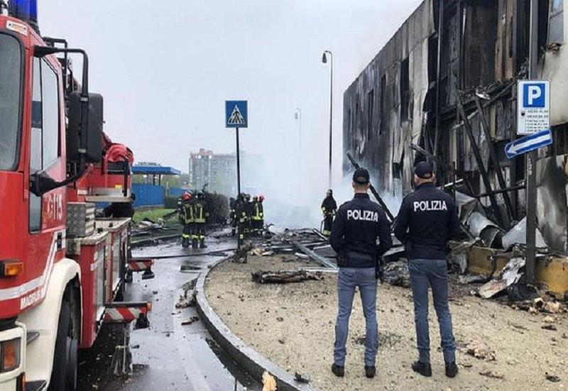 Un avion românesc s-a prăbușit lângă Milano! Afaceristul Dan Petrescu și fetele unui jurnalist cunoscut, morți în tragedie