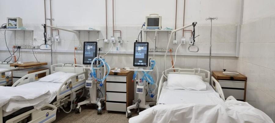 Secția Clinică Anestezie și Terapie Intensivă II este funcțională, de astăzi, cu un număr de 25 de paturi