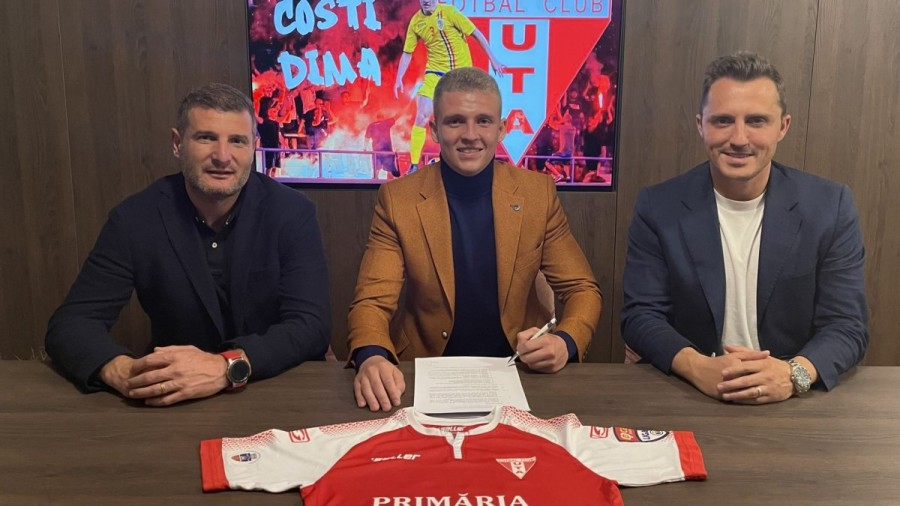 """UTA şi-a luat un fundaş de 22 de ani: """"Obiectivul grupului este accederea în play-off și să construim o echipă cât mai unită"""""""
