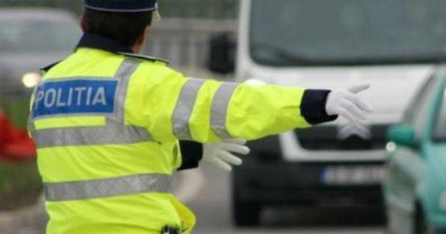 150 de amenzi aplicate în trafic de polițiștii rutieri