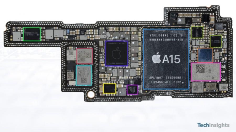Materialele și componentele pentru Apple iPhone 13 Pro costă 570$