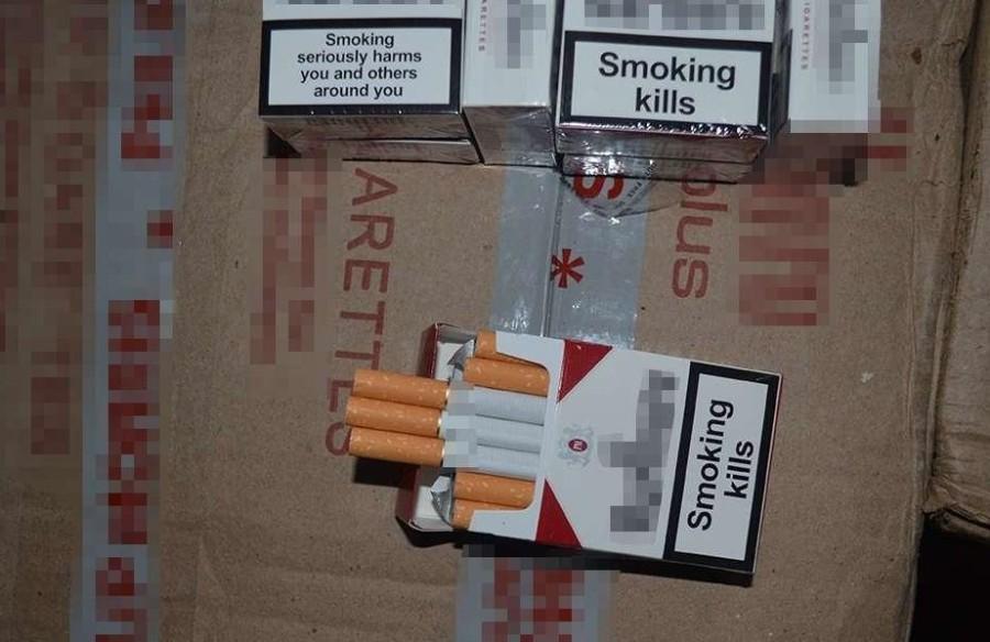 Tânără cercetată penal pentru contrabandă cu țigări