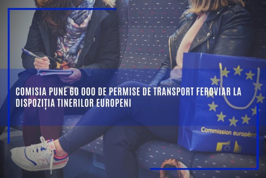 60 000 de permise gratuite de transport feroviar tinerilor europeni