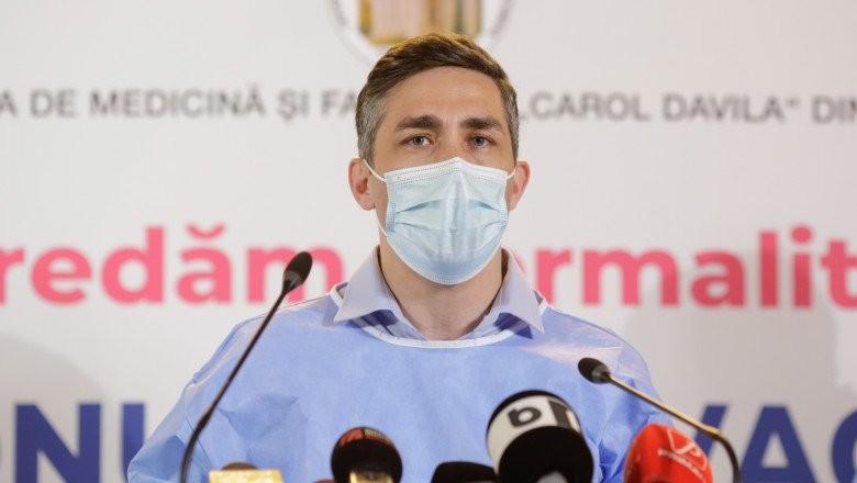 """Valeriu Gheorghiţă: """"Dacă păstrăm ritmul actual, la final de an vom depăși 70% din populație vaccinată"""""""