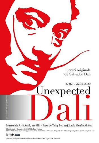 UNEXPECTED DALÍ @ MUZEUL DE ARTĂ