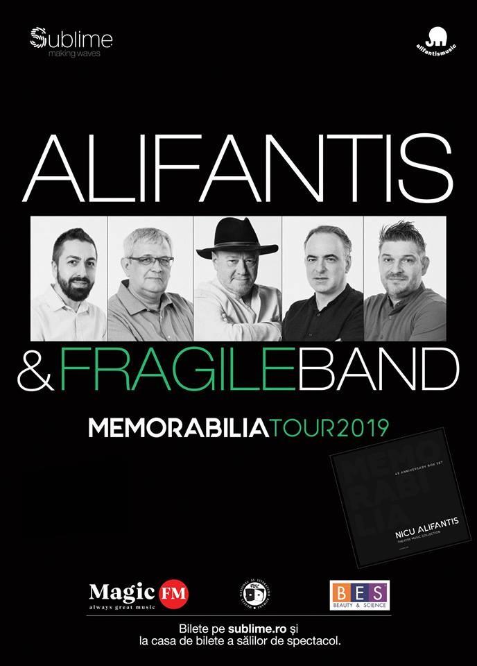Concert Nicu Alifantis & Fragile Band la Arad