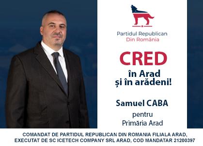 Samuel Caba - primaria Arad