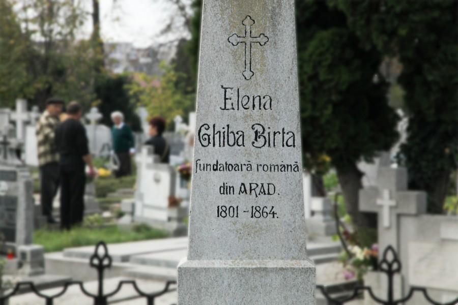Mormântul Elenei Ghiba Birta